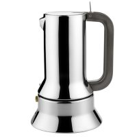 Coffee maker 9090 / 3 polished stainless Alessi Richard Sapper 1