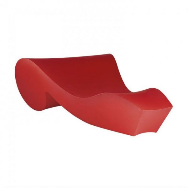 Red Rococò Chaise Longue Slide Gianni Arnaudo 1