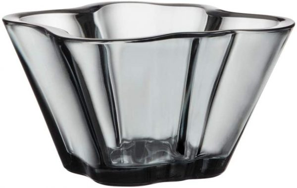 Alvar Aalto Bowl - H 75 mm Iittala Gray Alvar Aalto 1