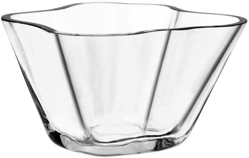 Alvar Aalto Bowl - H 75 mm Transparent Iittala Alvar Aalto 1