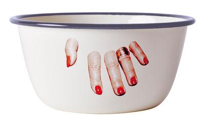 Ciotola Toiletpaper - Fingers Multicolore Seletti Maurizio Cattelan|Pierpaolo Ferrari