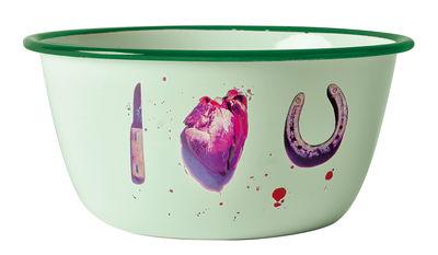 Bacia de papel higiênico - Eu te amo Multicolor Seletti Maurizio Cattelan | Pierpaolo Ferrari