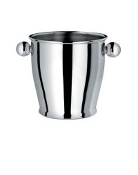 Container for ice Memories Inox polished Alessi Carlo Alessi 1