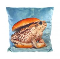 Cuscino Toiletpaper - Toad - 50 x 50 cm Multicolore Seletti Maurizio Cattelan|Pierpaolo Ferrari