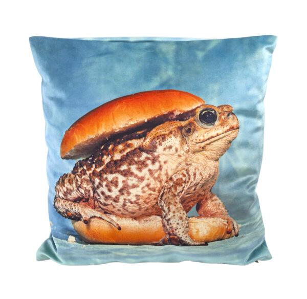 Almofada para papel higiénico - Toad - 50 x 50 cm Seletti Multicolor Maurizio Cattelan | Pierpaolo Ferrari