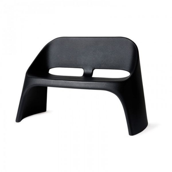 Amelie Duetto Black Sofa Slide Italo Pertichini 1