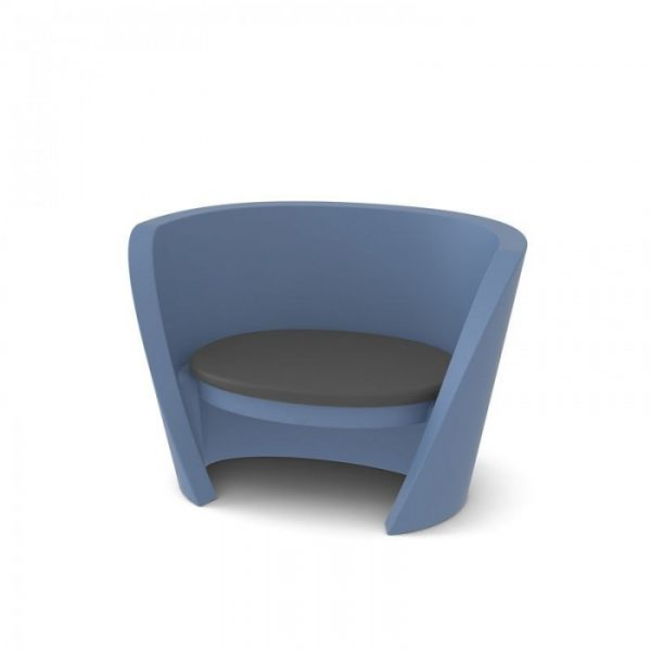 Rap Chair Light Blue Polvere Slide Karim Rashid 1