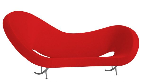 Victoria and Albert Sofa - 2 Model Red Moroso Ron Arad 1