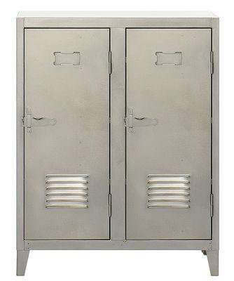 Ντουλάπα πόρτες κάτω 2 σατέν Χάλυβα Tolix Σαντάλ Ανδριώτη 1