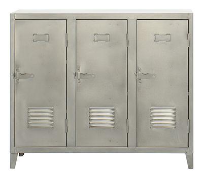Wardrobe doors down 3 satin Steel Tolix Chantal Andriot 1