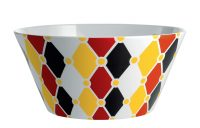 Circus Salad Bowl - Ø 23 x H 11 cm Multicolored ALESSI Marcel Wanders 1
