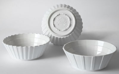 Salad bowls Machine Collection / 22 cm Ø - September 3 White Diesel living with Seletti Diesel Creative Team 1