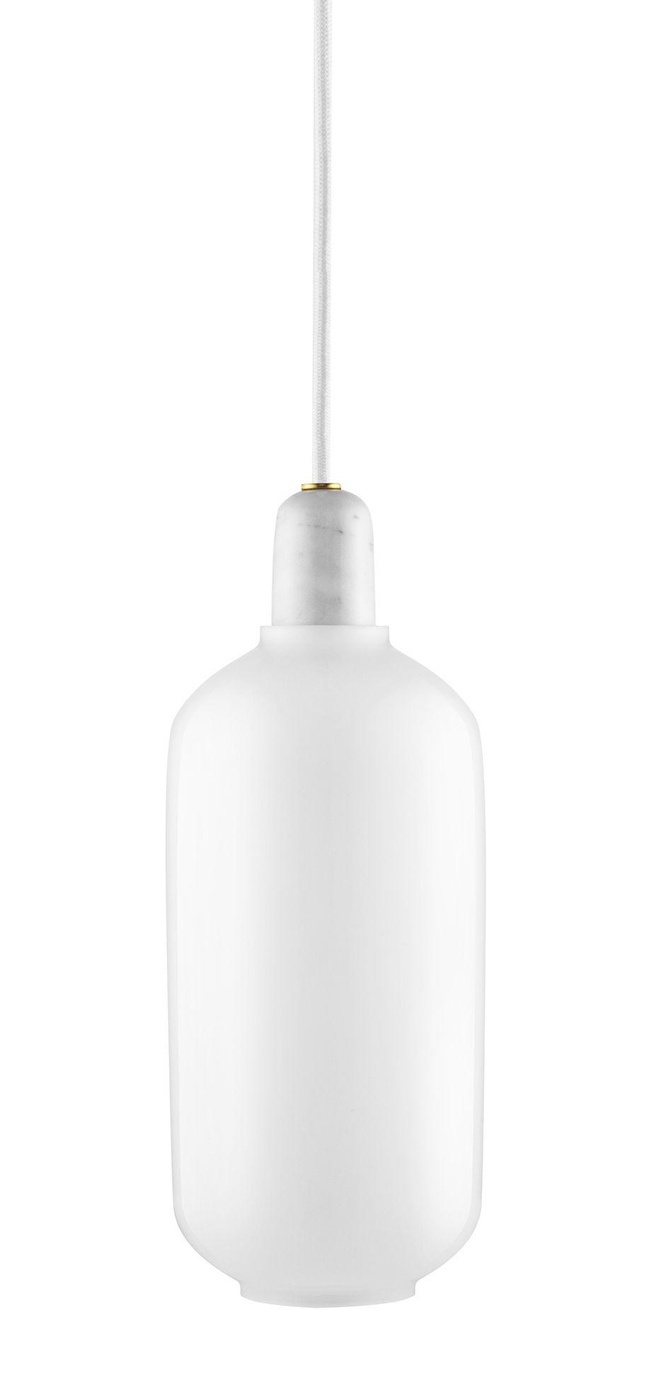 Amp Lanp Sispansyon Gwo - Ø 11 x H 26 cm Blan Normann Copenhagen Simon Legald