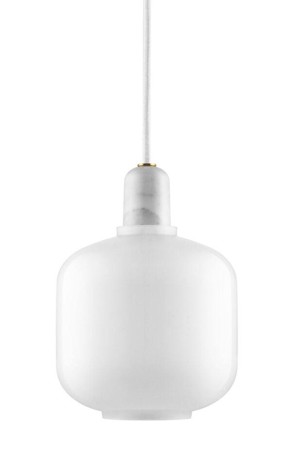 Lampada A Sospensione Amp Small - Ø 14 x H 17 cm Bianco Normann Copenhagen Simon Legald