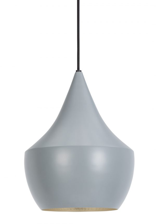 Beat Fat Pendant Lamp Silver | Gray Tom Dixon Tom Dixon