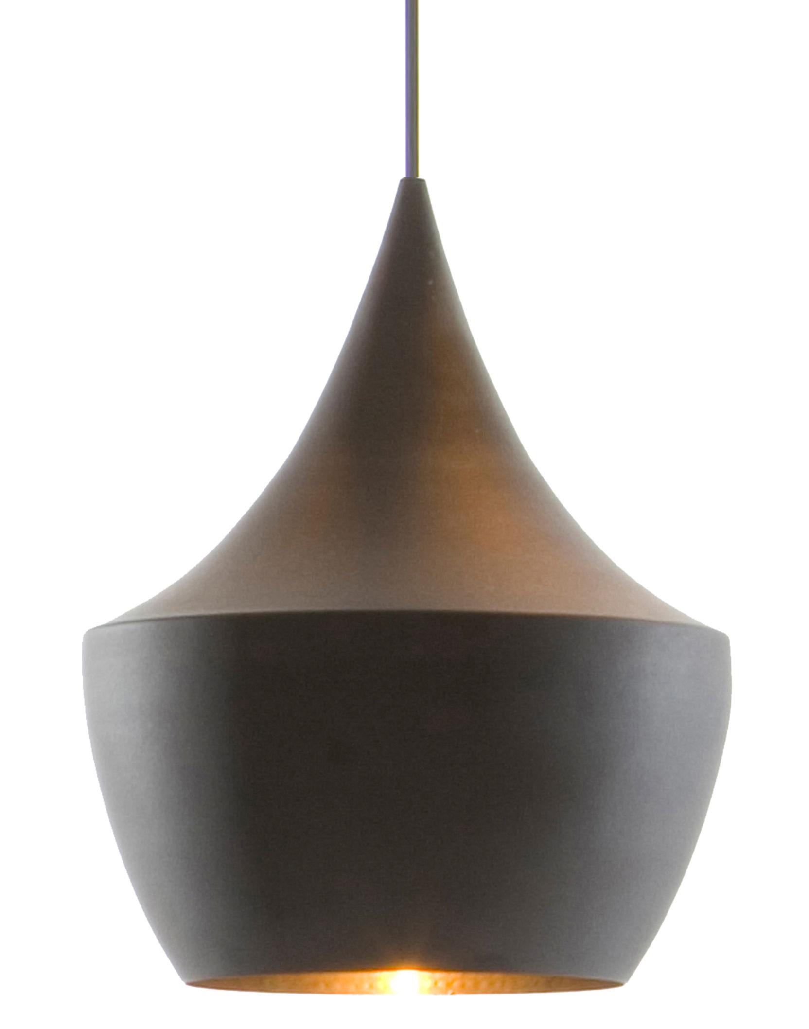 Beat Fat Black Suspension Lamp | Tom Dixon Brass Tom Dixon