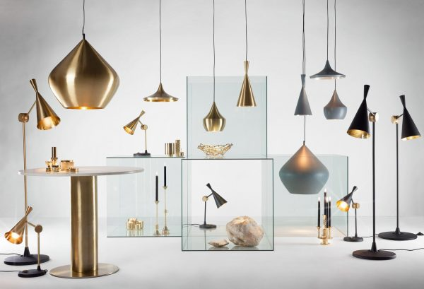Lamp Suspension Beat Stout Ασημί | Γκρι Tom Dixon Tom Dixon