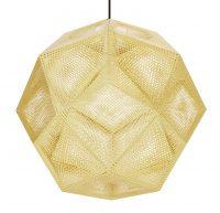 Lampada A Sospensione Etch Shade - Ø 50 cm Ottone Tom Dixon Tom Dixon