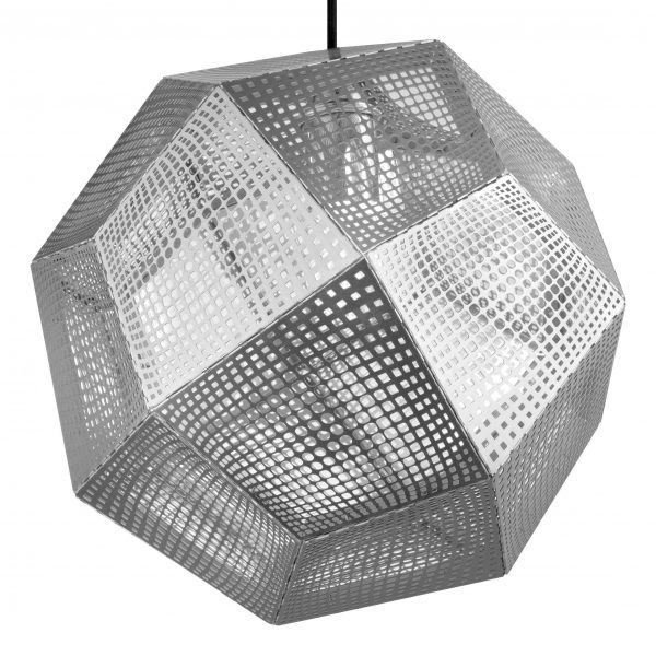 Etch Shade Steel Suspension Lamp Tom Dixon Tom Dixon