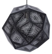 Black Etch Shade Suspension Lamp Tom Dixon Tom Dixon