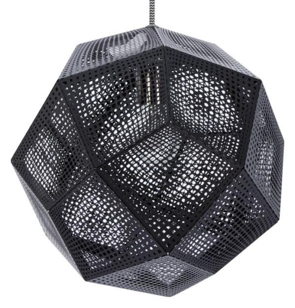 Black Etch Shade Suspension Lamp Tom Dixon Tom Dixon