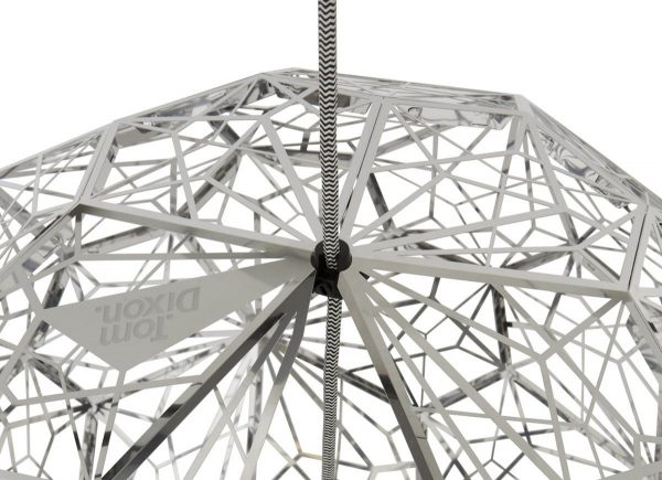 Suspension Etch Web - Ø 60 cm Acier poli Tom Dixon Tom Dixon