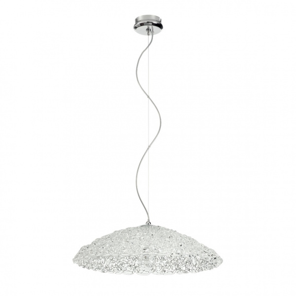Suspension Lamp Transparent Artic Chandelier Linea Light Group Centro Design LLG