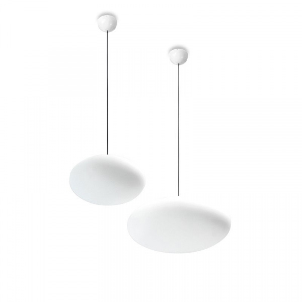 Suspension Lamp Oh! Smash SP M White Linea Light Group Centro Design LLG
