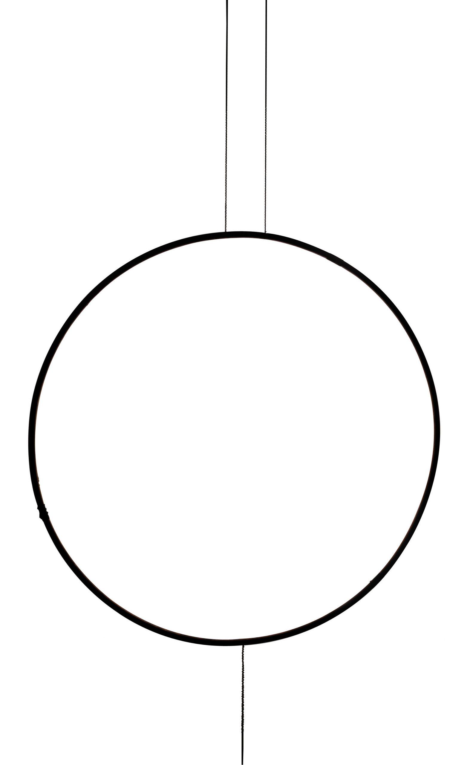 Συγγνώμη Giotto Suspension Lamp - LED / Ø 120 cm Night blue Catellani & Smith Catellani & Smith