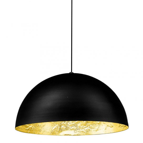 Stchu-moon 02 Suspension Lamp - Ø 40 cm Black | Gold Catellani & Smith Catellani & Smith
