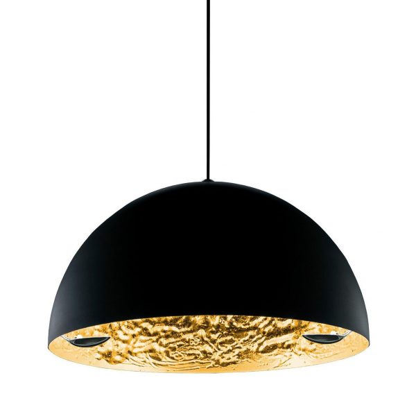 Lampada A Sospensione Stchu-moon 02 - Ø 80 cm Nero|Oro Catellani & Smith Catellani & Smith