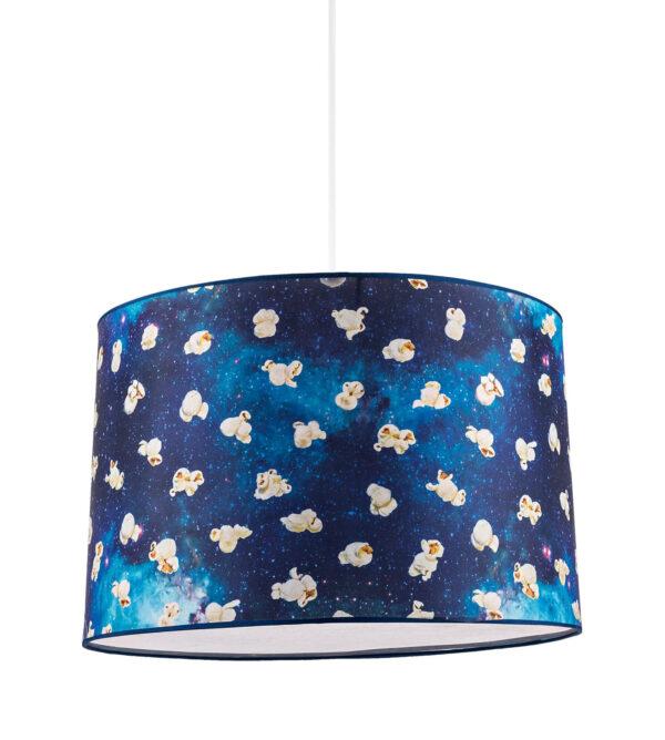 Lámpara de suspensión de papel higiénico - Palomitas de maíz - Ø 52 cm Multicolor | Seletti Blue Maurizio Cattelan | Pierpaolo Ferrari