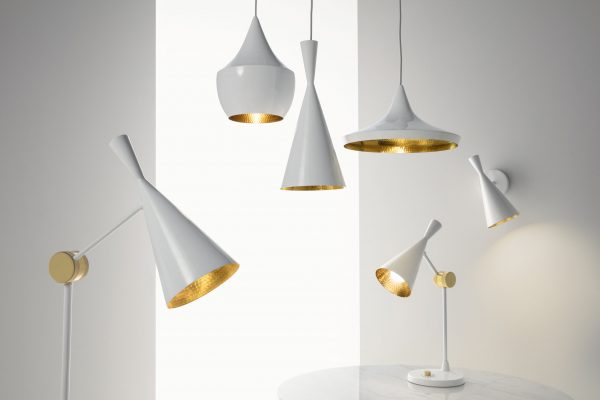 Wandleuchte Beat Einstellbare Bright White Brass Tom Dixon Tom Dixon