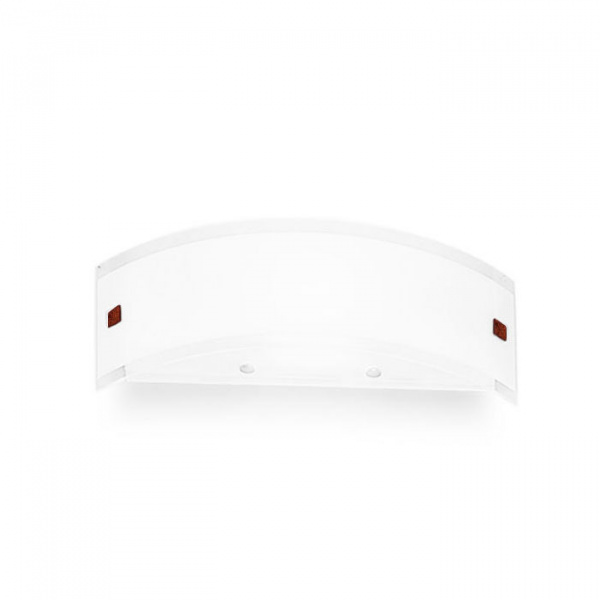 Wall Lamp Mille S Lamp 1x80W White | Nickel | Red Linea Light Group Centro Design LLG