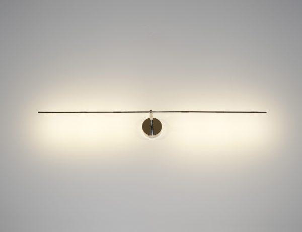 Lampada Da Parete Light stick - LED - L 61 cm Argento Catellani & Smith Catellani & Smith