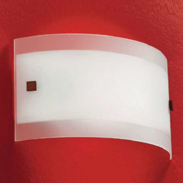 Mille White | Nickel | Red Aplique Linea Light Group Centro Design LLG