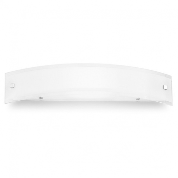 Mille LED Wall Lamp AP L White | Nickel | Red Linea Light Group Centro Design LLG