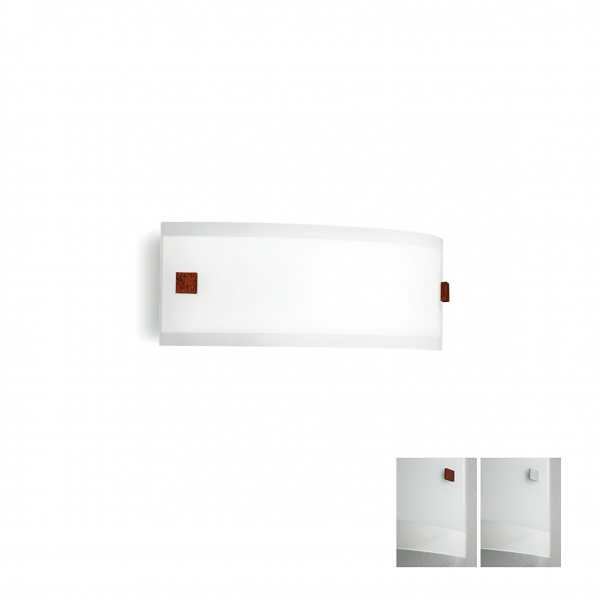 Mille LED Aplique AP M Blanco | Níquel | Rojo Linea Light Group Centro Design LLG