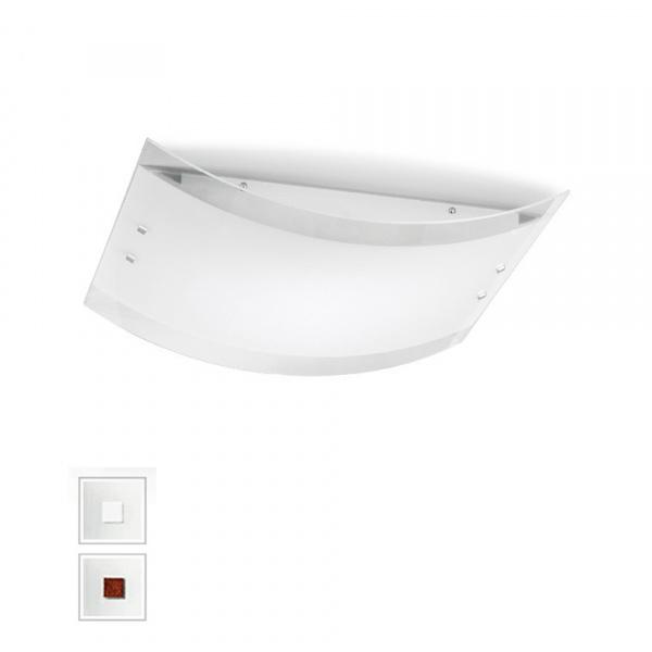 Applique LED Mille AP PL M Blanc | Nickel | Rouge Linea Light Group Centro Design LLG