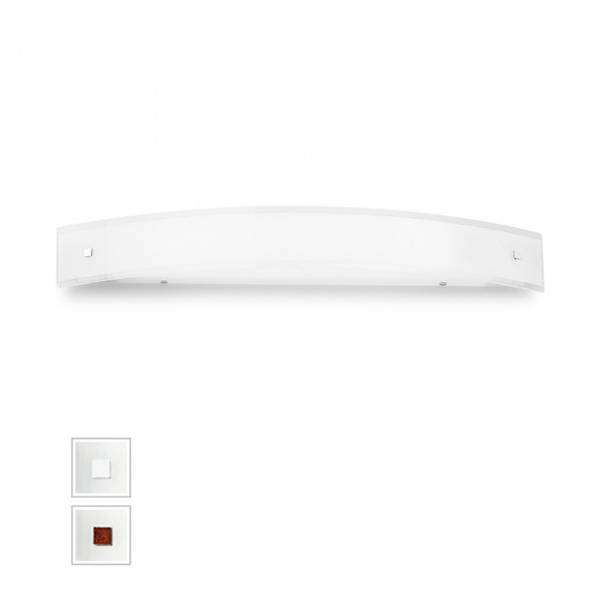 Applique LED Mille AP XL Blanc | Nickel | Rouge Linea Light Group Centro Design LLG