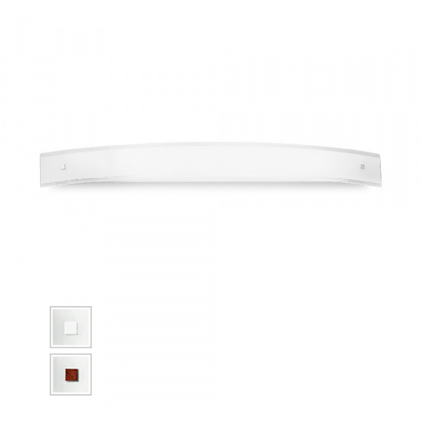 Mille LED Wall Lamp AP XXL Λευκό | Νικέλιο | Κόκκινο Linea Light Group Centro Design LLG