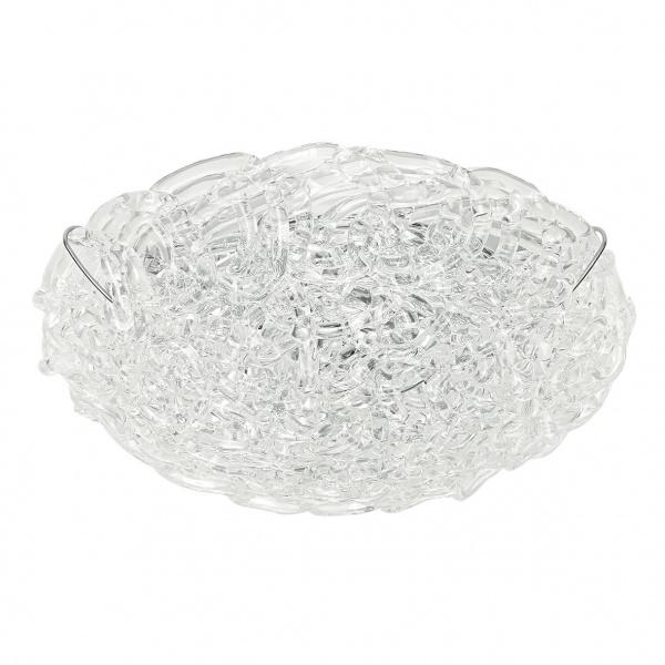 Lampada Da Parete o plafoniera in cristallo Artic S Trasparente Linea Light Group Centro Design LLG
