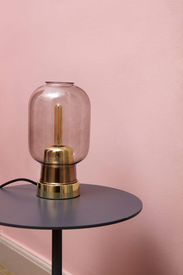 Amp Sobremesa Latón | Gris humo Normann Copenhagen Simon Legald