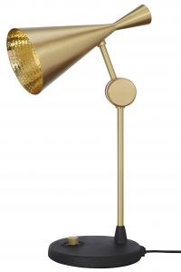 Beat H 53 cm Lampe de table noire | Laiton Tom Dixon Tom Dixon