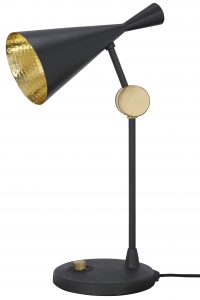 Black Beat Table Lamp | Tom Dixon Brass Tom Dixon