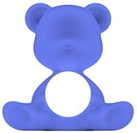 Lampe de table sans fil Teddy Girl Bleu clair Qeeboo Stefano Giovannoni 1