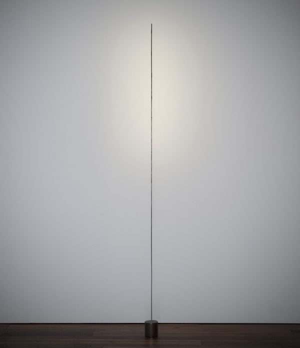 Lámpara de pie Light stick Plata | Negro Catellani & Smith Catellani & Smith