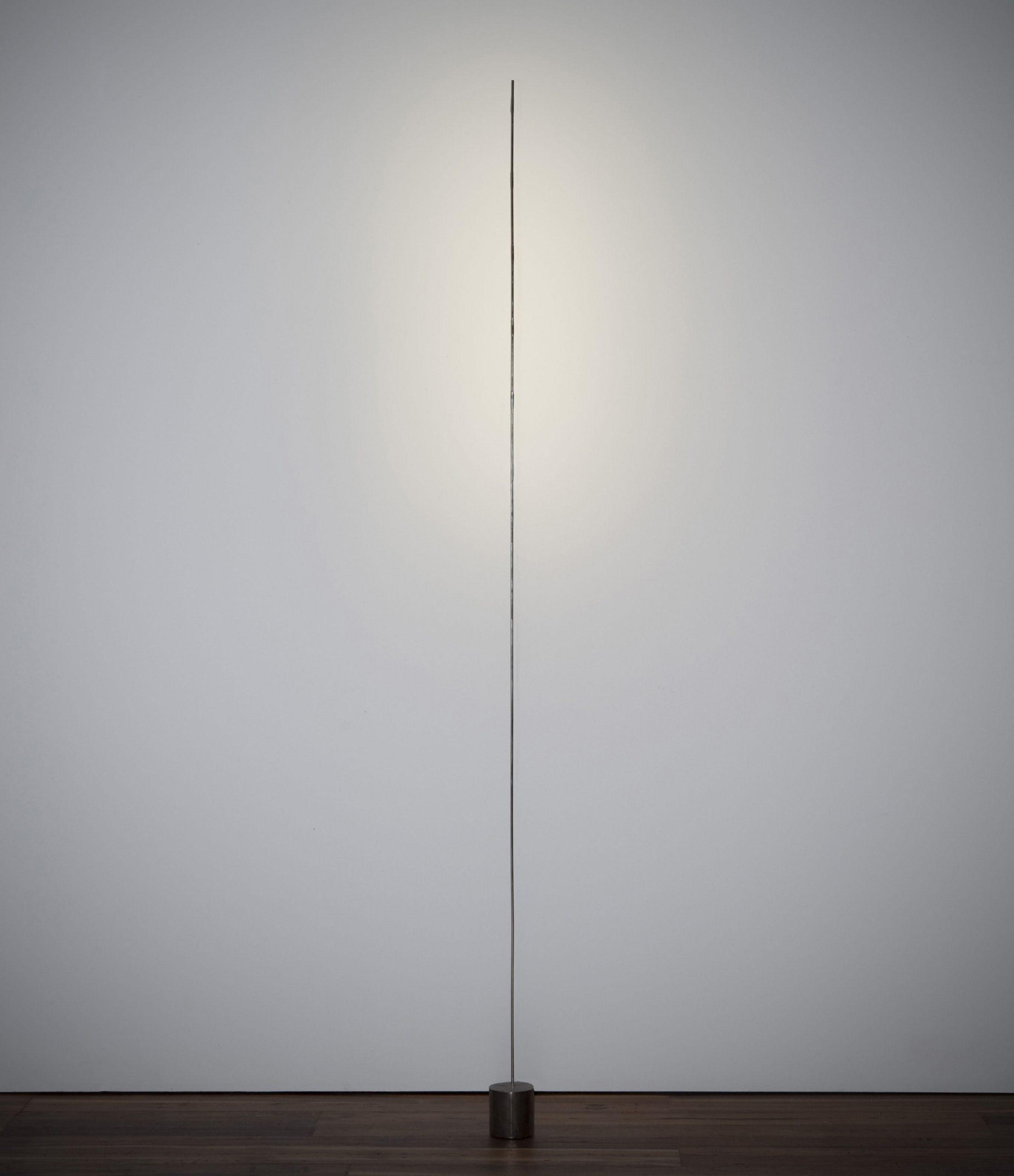 Lámpara de pie Light stick Plata | Negro Catellani & Smith Catellani & Smith