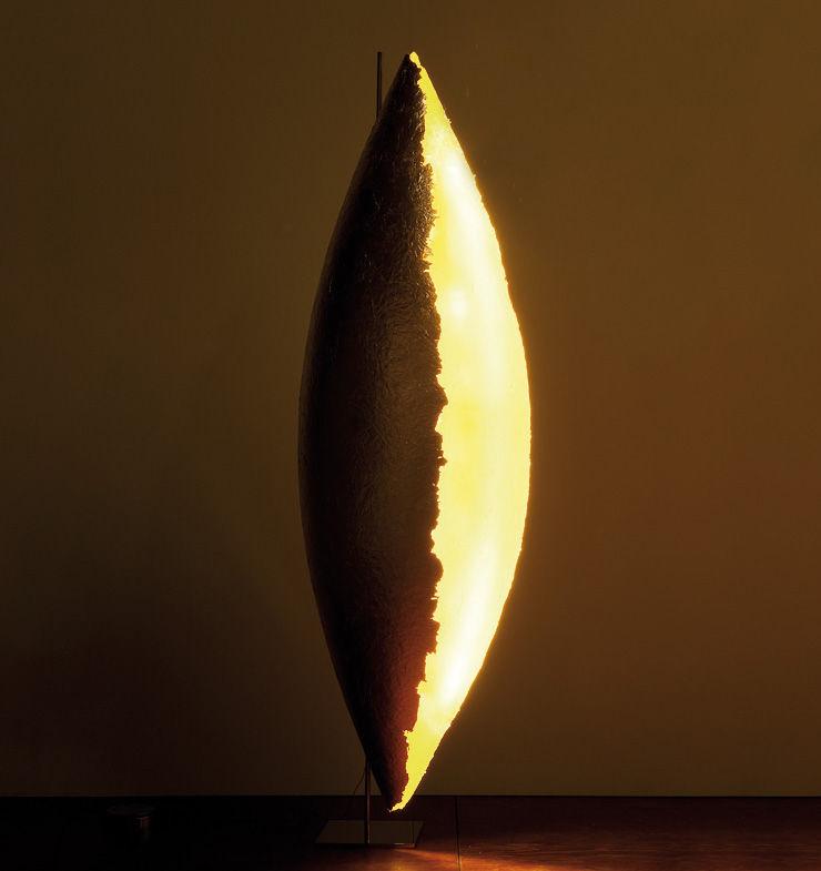 PK LED H 185フロアランプcm Gold Catellani&Smith Enzo Catellani