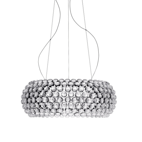 Suspension Lamp Caboche SP L Transparent Foscarini Patricia Urquiola | Eliana Gerotto 1